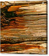 Wooden Abstract Acrylic Print