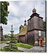 Wooden Church In Rabka Malopolska Poland Acrylic Print