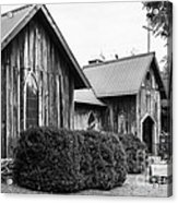 Wooden Country Church 2 Acrylic Print