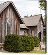 Wooden Country Church Acrylic Print