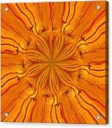 Wooden Flower Acrylic Print