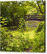 Wooden Foot Bridge Acrylic Print