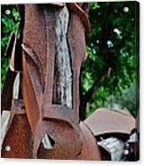 Wooden Horse15 Acrylic Print