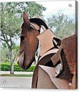 Wooden Horse26 Acrylic Print