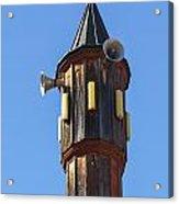 Wooden Minaret Acrylic Print