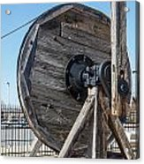 Wooden Pully Acrylic Print
