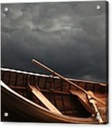 Wooden Rowboat Acrylic Print