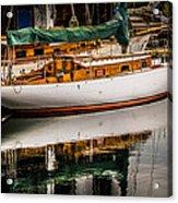 Wooden Sailboat Acrylic Print