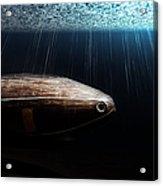 Wooden Submarine Ictineo II Dv Acrylic Print