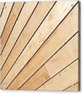 Wooden Texture Acrylic Print