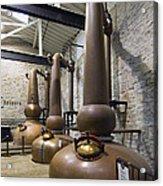 Woodford Reserve Copper Spirit Stills - D008775a Acrylic Print