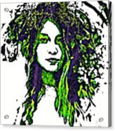 Woodland Faerie Acrylic Print