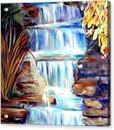 Woodland Oasis Acrylic Print