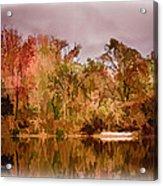 Woodland Reflections Acrylic Print