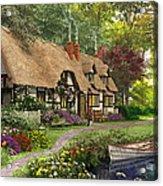 Woodland Walk Cottage Acrylic Print