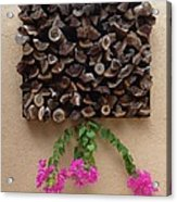 Woodpile Plus Acrylic Print