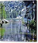 Woods Lake Acrylic Print