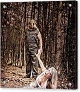 Woods Of Terror Acrylic Print