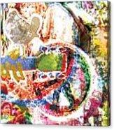 Woodstock Original Painting Print  Acrylic Print