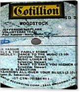 Woodstock Side 5 Acrylic Print