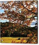 Woodstock Vermont Acrylic Print
