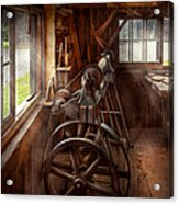 Woodworker - The Art Of Lathing Acrylic Print