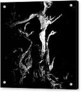 Woody Alien Acrylic Print by Petros Yiannakas