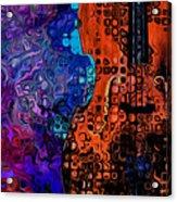 Woody Sound Acrylic Print