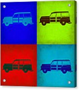 Woody Wagon Pop Art 1 Acrylic Print