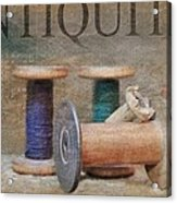 Woolrich Woolen Mill Spools Acrylic Print