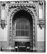 Woolworth Building Entrance Acrylic Print