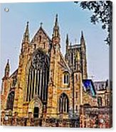 Worcester Cathedral Acrylic Print