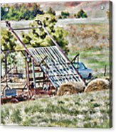 Work Is Done Acrylic Print