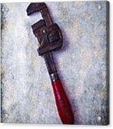 Work Wrench Acrylic Print