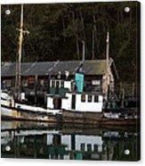 Working Boat Acrylic Print by Bill Gallagher