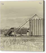 Working Farm Acrylic Print