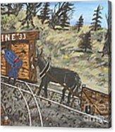 The Coal Mine Acrylic Print