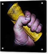 Working Mans Hand Acrylic Print