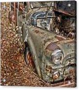 Working Truck  Acrylic Print