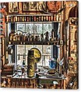 Workshop Acrylic Print by Debra and Dave Vanderlaan