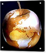 World Apple Acrylic Print