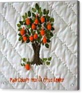 World Citrus Center Acrylic Print