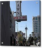 World Famous Gold And Silver Pawn Shop Acrylic Print