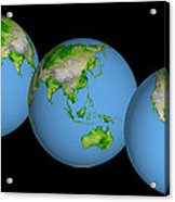 World Globes Acrylic Print