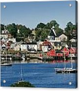 World Hertitage Designated Town On Acrylic Print
