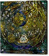 World In Crisis Calls For Peace Acrylic Print