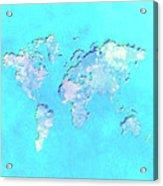 World Map 1b Acrylic Print