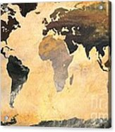 World Map   Turner 1 Acrylic Print