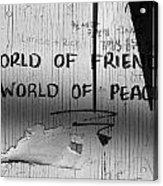 World Of Friends Acrylic Print