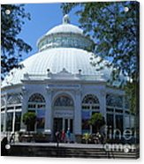 World Of Plants Building At The New York Botanical Gardens Acrylic Print